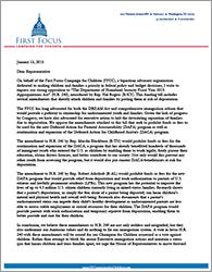 HR240 Opposition Letter